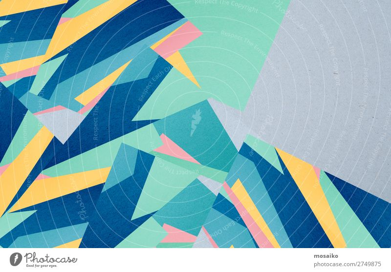colourful paper texture - background design Style Design Decoration Wallpaper Craft (trade) Paper Old Build Dirty Retro Blue Esthetic Contentment Communicate