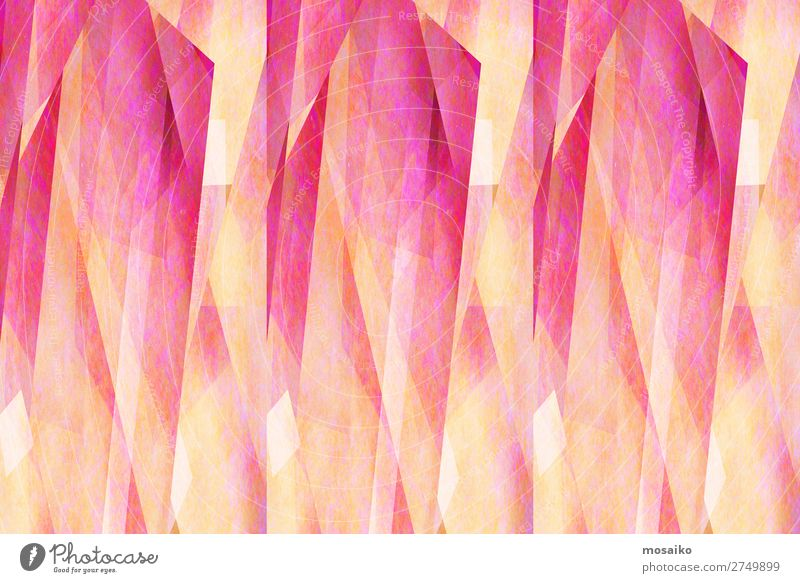 Geometric Patterns - Pink and Yellow Lifestyle Elegant Style Design Joy Harmonious Leisure and hobbies Feasts & Celebrations Valentine's Day Carnival