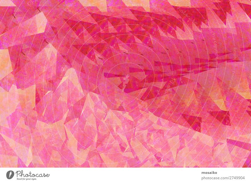 Pink Colours - Graphic Shapes Business Career Success To talk Art Spring Summer Fashion Design Uniqueness Elegant Energy Kitsch Culture Senses Mirror image