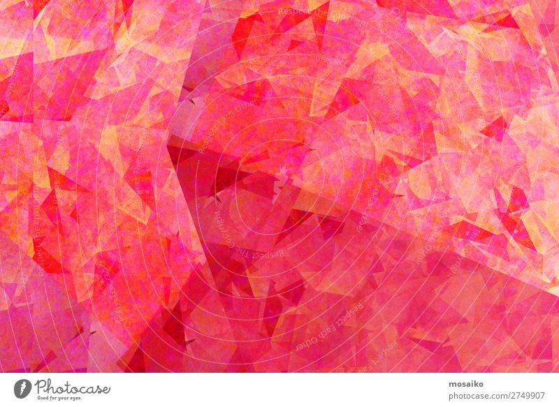 Pink Colours - Graphic Shapes Lifestyle Style Design Exotic Joy Art Painting and drawing (object) Emotions Happiness Enthusiasm Euphoria Uniqueness Elegant