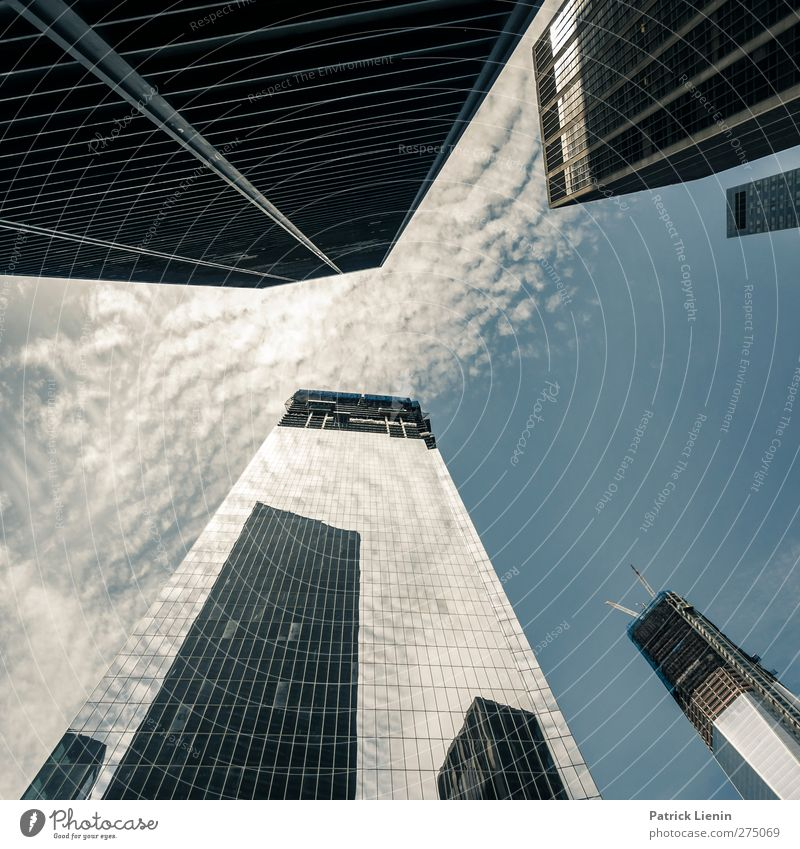ground zero Town Downtown Skyline Populated High-rise Bank building Places Manmade structures Building Architecture Tourist Attraction Landmark Monument Moody