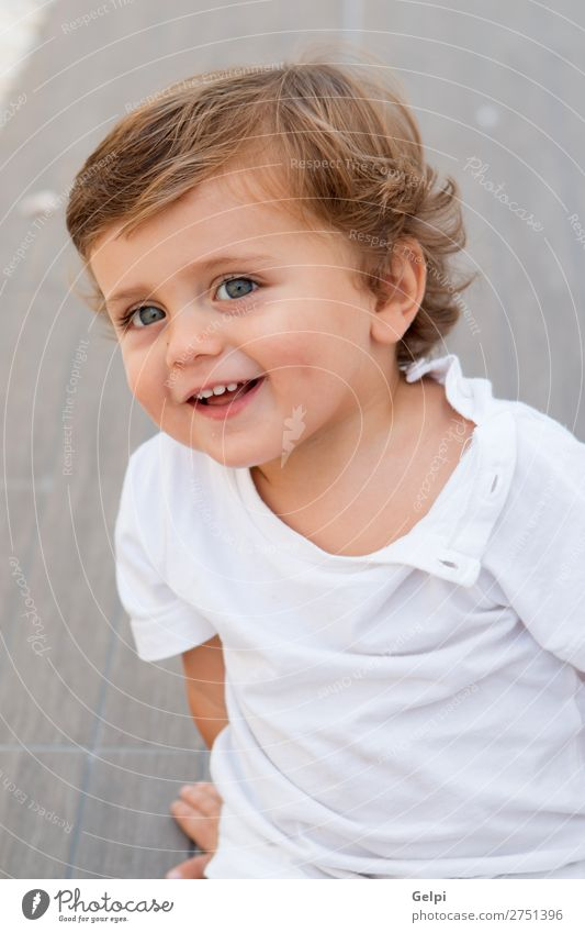 Funny baby one year outdoor Lifestyle Joy Happy Beautiful Skin Face Summer Child Human being Baby Toddler Boy (child) Man Adults Infancy Smiling Cool (slang)