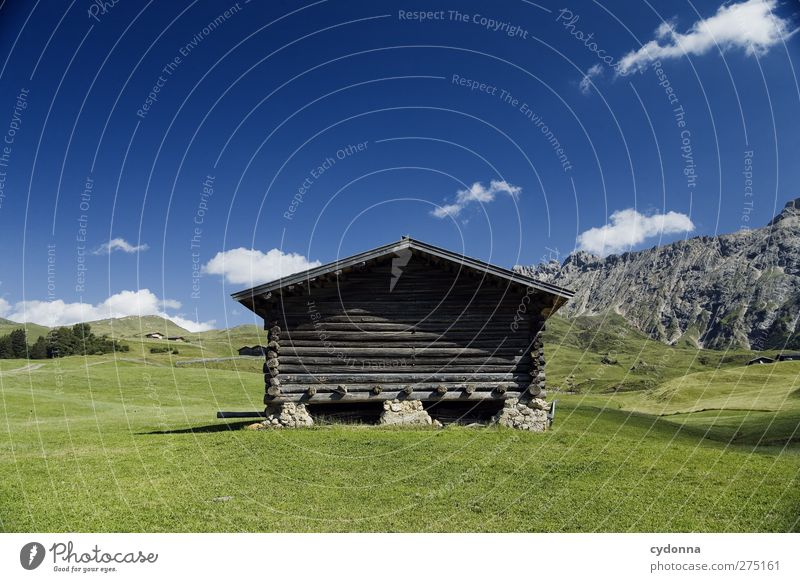 A fine hut in a good location Well-being Relaxation Calm Vacation & Travel Tourism Trip Adventure Far-off places Freedom Environment Nature Landscape Sky