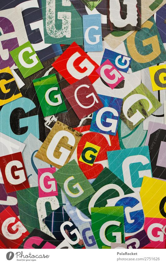 #A# GGGGG Art Work of art Esthetic g Many Letters (alphabet) Alphabet soup Typography Fashioned Characters Design Colour photo Multicoloured Interior shot