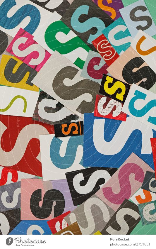 #A# SSSSS Art Work of art Esthetic Letters (alphabet) Alphabet soup Many Typography Characters Design Colour photo Multicoloured Interior shot Studio shot