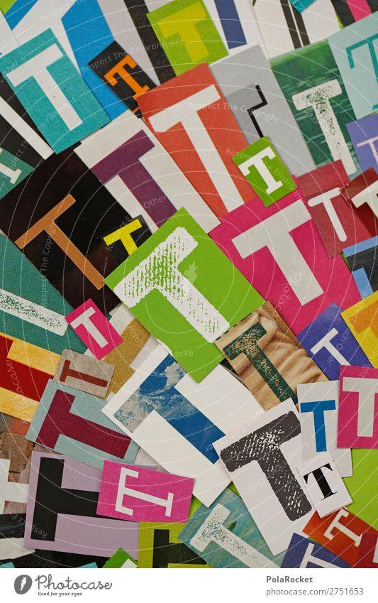 #A# TTTTT Art Work of art Esthetic Many Fashioned Design Typography Letters (alphabet) Alphabet soup Colour photo Multicoloured Interior shot Studio shot
