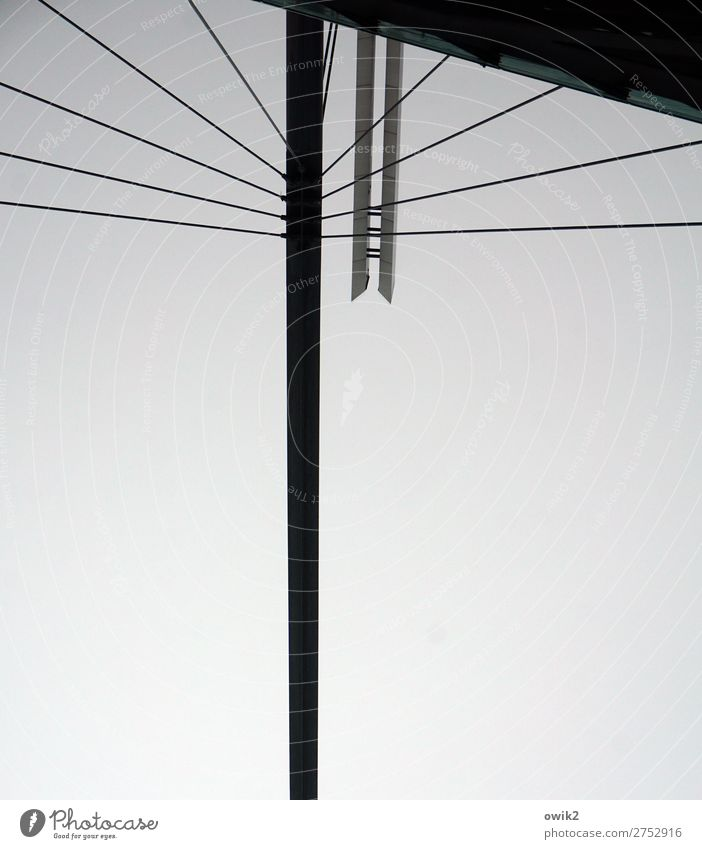 Dresden upside down Sky Germany Town Downtown Manmade structures Architecture Construction Column Wire cable Firm Metal Plastic Stand Free Large Above Inverted