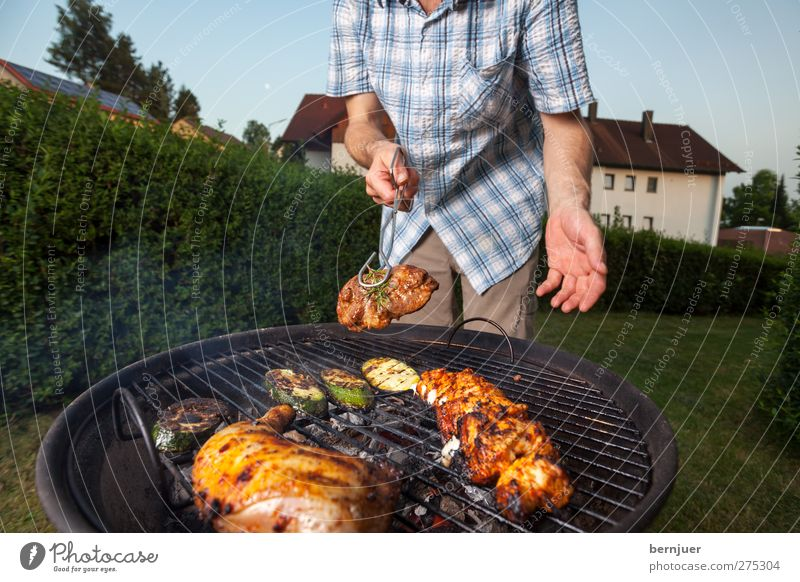 Human being Hand Food Garden Feasts & Celebrations Arm Leisure and hobbies Masculine Lifestyle Clothing Stop To enjoy Barbecue (event) Testing & Control Meat