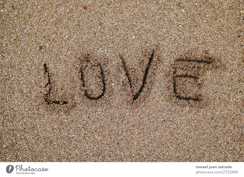 love on the sand Beach Sand Love Exterior shot Vacation & Travel Destination Places Nature Landscape background Calm Serene silence Relaxation romantic Bilbao
