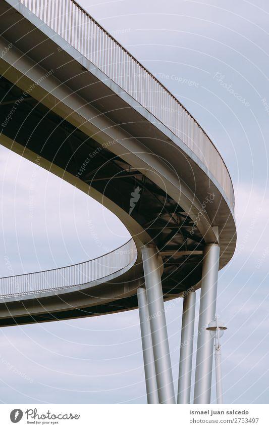 bridge architecture in the city Street Architecture Lanes & trails Park Bridge Spain Fence City Bilbao
