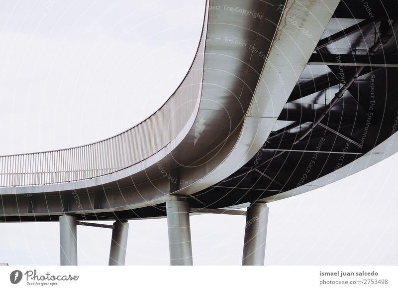 bridge achitecture in the city Street Architecture Lanes & trails Park Bridge Spain Fence City Bilbao