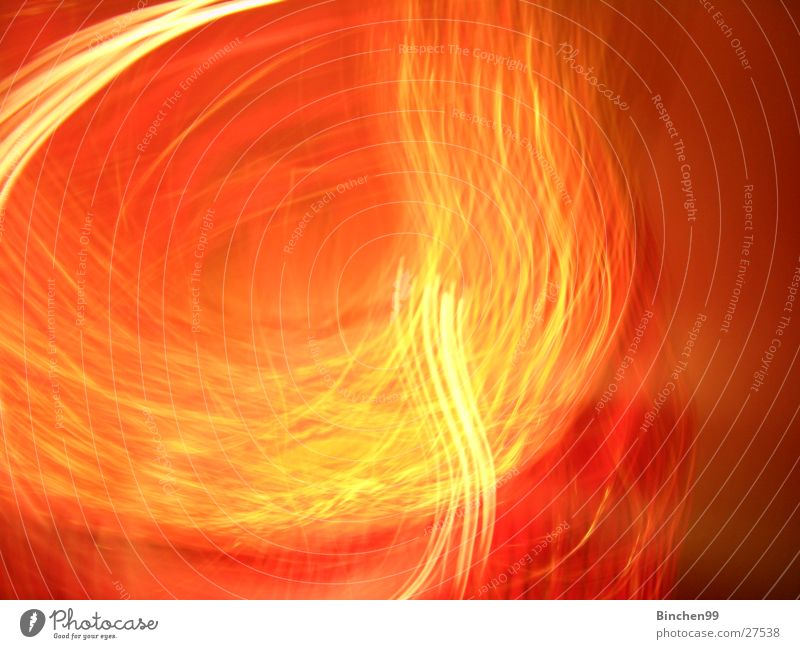 fire paints Red Yellow Long exposure Background picture Orange