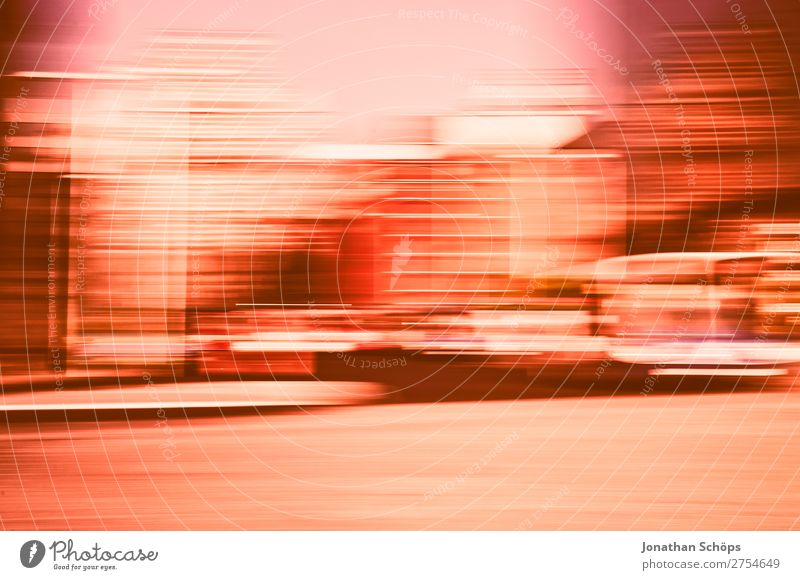 City view with motion blur Town Speed Pink 2019 Movement Color of the Year 2019 Color of the year colour trends Background picture Coral leeds Living Coral