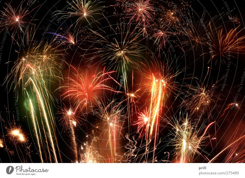 fireworks display Vacation & Travel Party Event Feasts & Celebrations New Year's Eve Illuminate Hot Bright Respect Explode Firecracker Pyrotechnics Ignite