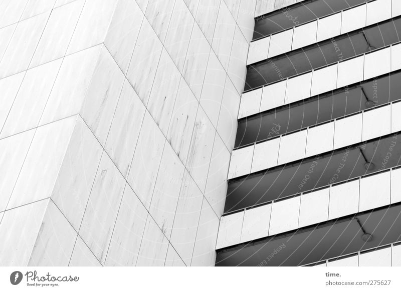 House (Residential Structure) Cold Wall (building) Above Wall (barrier) Stone Building Facade Design High-rise Gloomy Threat Manmade structures Balcony