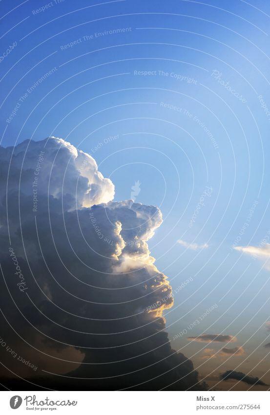 Sky Blue Clouds Face Air Storm clouds
