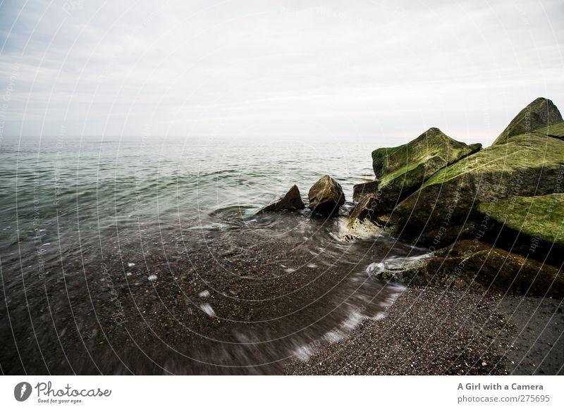 Sky Nature Water Green Summer Ocean Clouds Landscape Environment Movement Coast Horizon Rock Waves Power Island