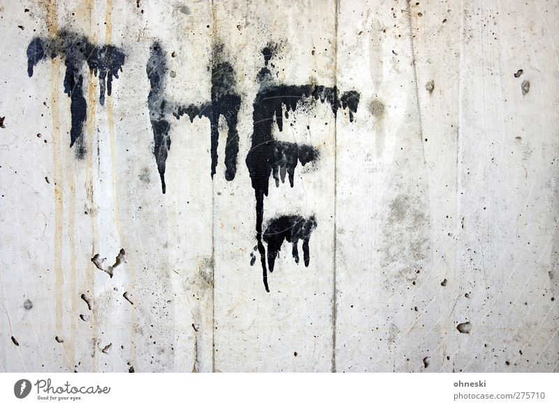 MUNSTERS Wall (barrier) Wall (building) Facade Colour Concrete Characters Graffiti Typography Creepy Black Fear English Colour photo Subdued colour