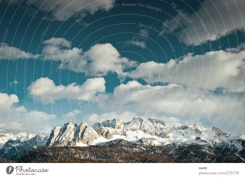 Mountains and more Vacation & Travel Snow Winter vacation Environment Nature Landscape Elements Sky Clouds Spring Climate Beautiful weather Rock Alps Peak