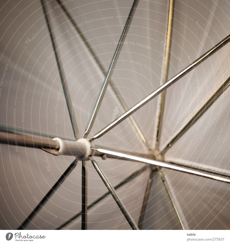 Rescue parachute . . . Metal Plastic Illuminate Thin Glittering Clean Gray Silver White Esthetic Design Uniqueness Innovative Creativity Network Precision