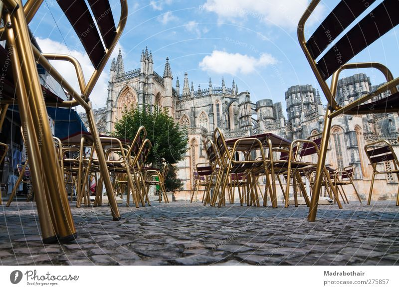 Old City Architecture Building Church Europe Change Manmade structures Historic Past Café Cobblestones Landmark Tourist Attraction Portugal World heritage