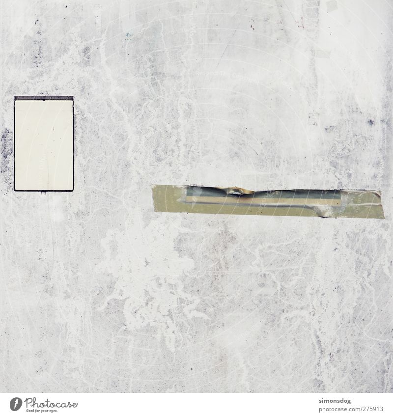 Gray Background picture Facade Concrete Minimalistic Adhesive tape Gray scale value Concrete wall