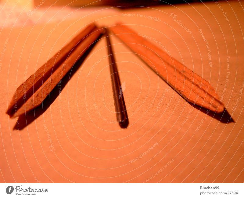 Half Half Pencil Wood Division Perspective Pencil lead