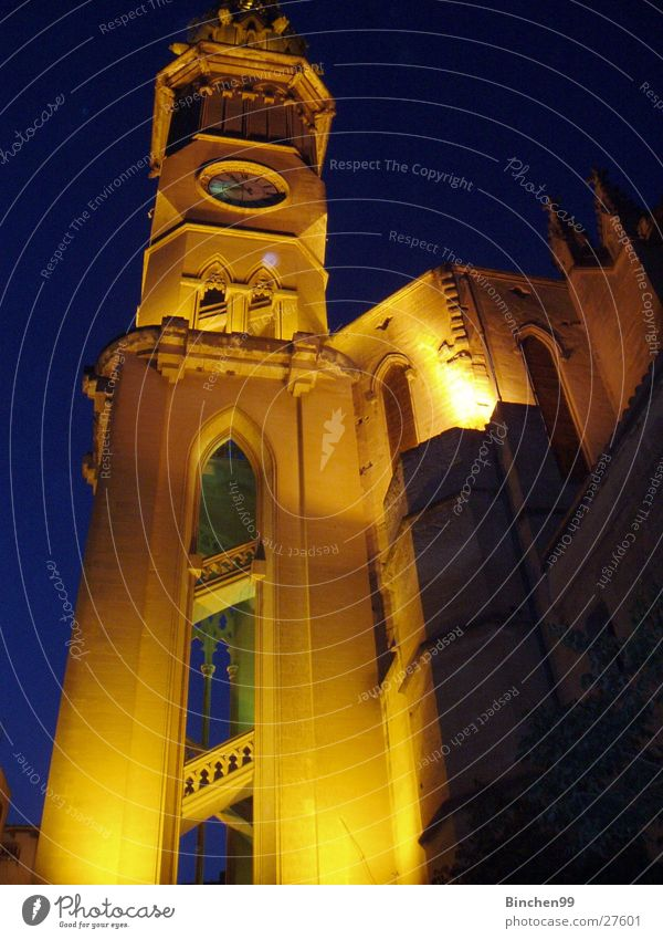 church Night Historic Religion and faith Exposure Building House of worship Architecture