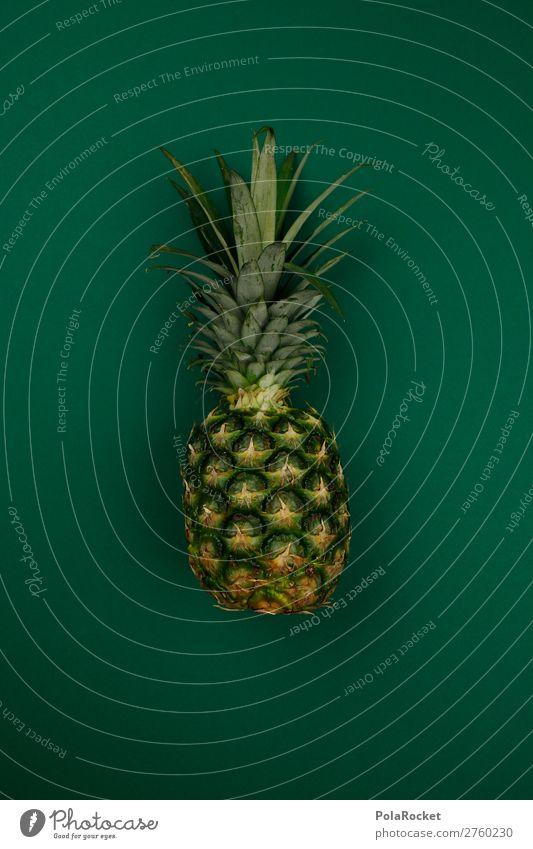 #A# Exotic Green Art Work of art Esthetic Pineapple Ananas leaves Pineaple platation Tropical fruits Fruit Fruity Fertile Healthy Eating Vegan diet