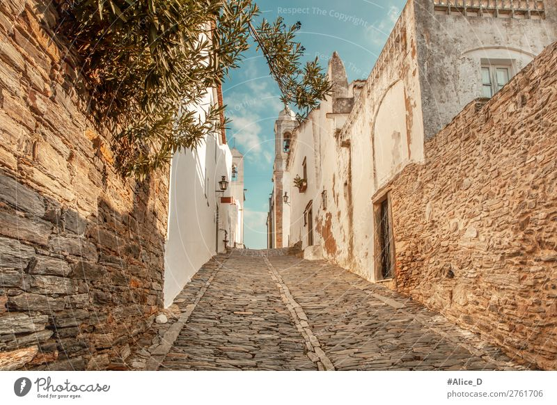 Medieval village Monsaraz in the Alentejo Portugal Vacation & Travel Tourism Sightseeing Europe Village Small Town Old town House (Residential Structure)