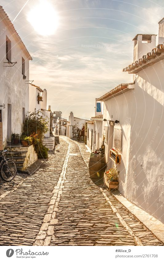 Medieval village Monsaraz in Alentejo Portugal Vacation & Travel Sightseeing Europe Village Small Town Old town Deserted House (Residential Structure)