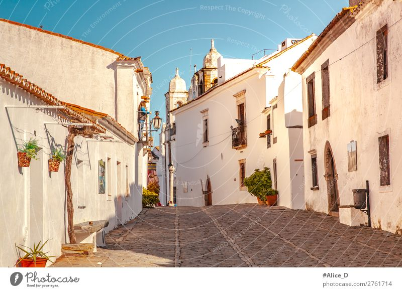Medieval village Monsaraz in the Alentejo Portugal Vacation & Travel Europe Village Small Town Old town House (Residential Structure) Architecture