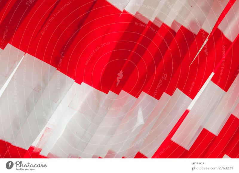 Colour White Red Simple Construction site Barrier Sharp-edged Construction worker