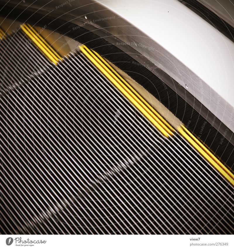 roll Manmade structures Building Architecture Stairs Metal Line Stripe Authentic Modern Services Logistics Escalator Automatic Corner Marker line Story Barrier