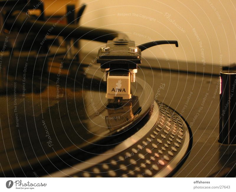 Club Disc jockey Record Pick-up head Photographic technology Record player Turntable