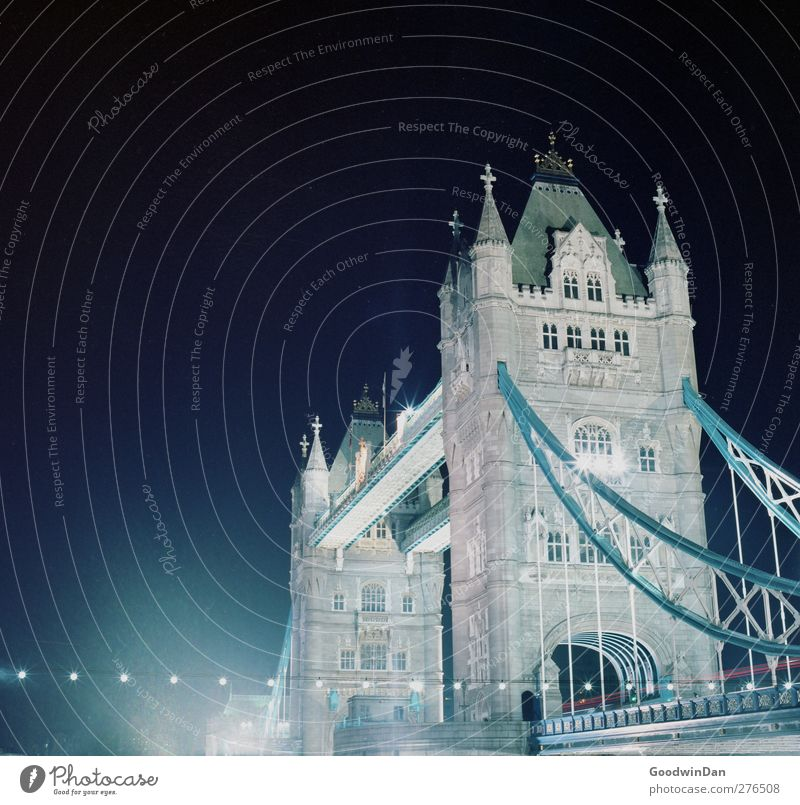 City love. London Town Capital city Bridge Manmade structures Architecture Tourist Attraction Landmark Monument Tower Bridge Dark Large Historic Many