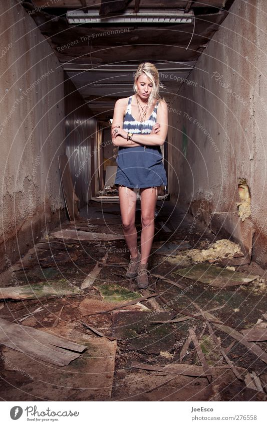 Woman Beautiful Loneliness Adults Dark Sadness Fashion Dream Room Blonde Fear Wild Adventure Lifestyle Observe Uniqueness