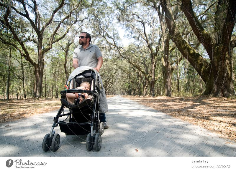 stroll Human being Masculine Man Adults Parents Father Youth (Young adults) Life 2 0 - 12 months Baby 1 - 3 years Toddler 18 - 30 years 30 - 45 years Tree
