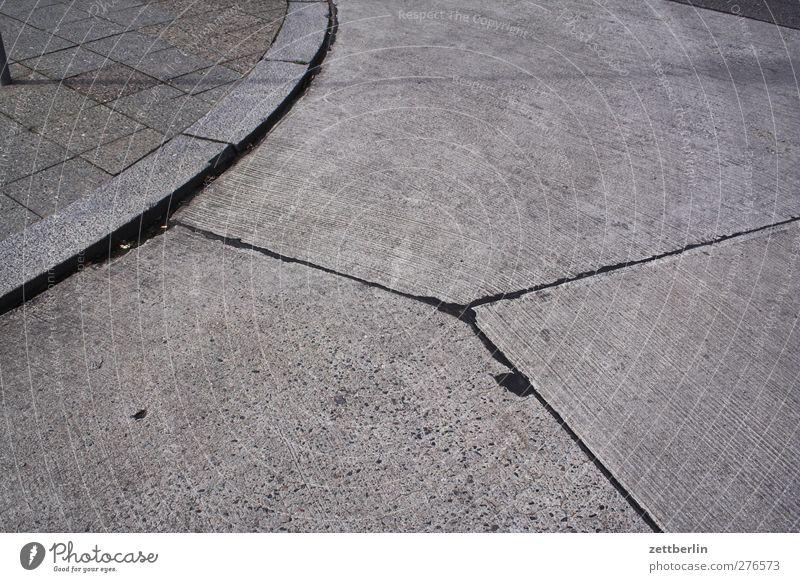 City Lanes & trails Berlin Gray Line Transport Copy Space Places Concrete Corner Part Division Downtown Curve Geometry Arch