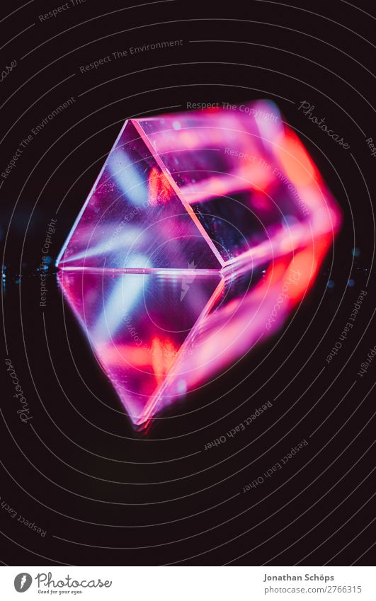 Prism Laser Party Artificial Intelligence Retro Neon Science & Research Computer Information Technology Blue Red Black Universe Extraterrestrial being Triangle