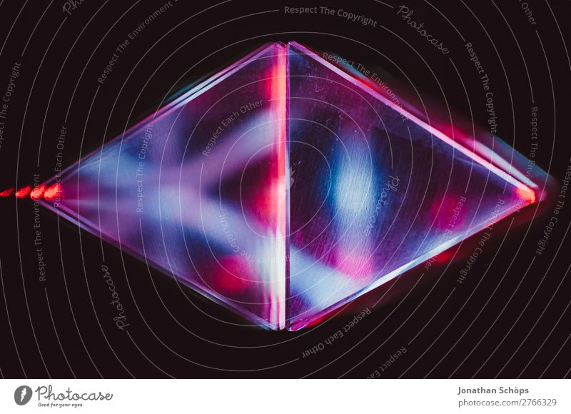 Prism Laser Sci-fi Background Triangle Elements Part Glass Graphic Background picture Information Technology Crystal structure Laser pointer Laser show Light