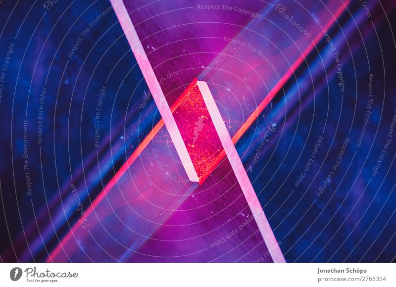 Blue Red Black Background picture Retro Illuminate Technology Glass Future Tilt Universe Futurism Graphic Part Science & Research Double exposure