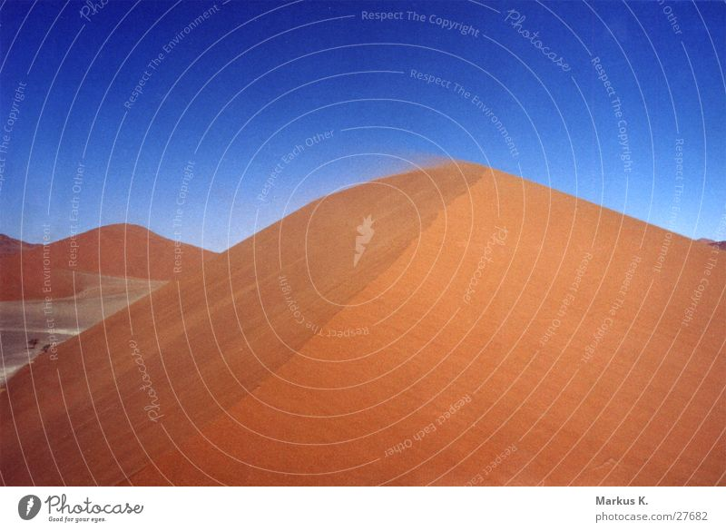 Dune 45 Namibia Hot Dry Physics Loneliness Red Calm Munich Desert Namib desert Warmth Thirst Sand Sparse