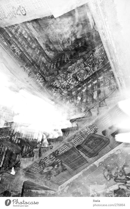 breeze blocks Art Town Culture Berlin Black & white photo Interior shot Long exposure Bird's-eye view