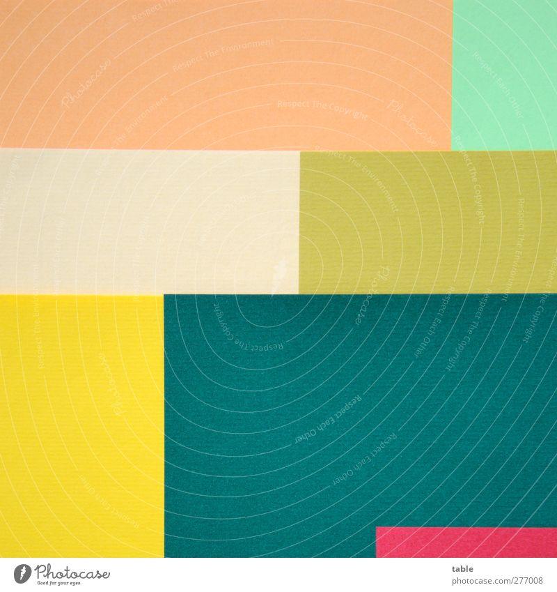 Green Red Colour Yellow Art Line Orange Gold Arrangement Design Esthetic Paper Change Uniqueness Pure Concentrate