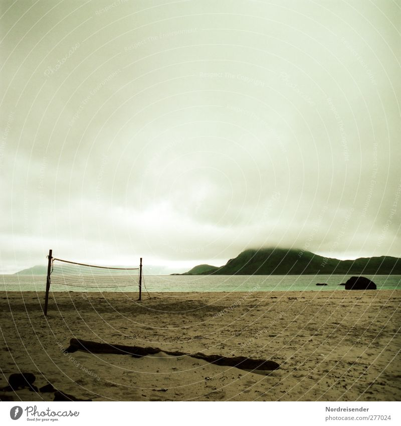 Nature Ocean Beach Loneliness Clouds Calm Landscape Far-off places Sports Playing Freedom Coast Moody Rain Climate Leisure and hobbies