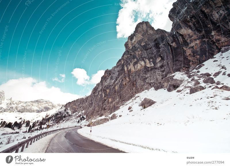 winterproof Vacation & Travel Snow Winter vacation Mountain Environment Nature Landscape Elements Sky Clouds Climate Beautiful weather Rock Alps Peak Transport