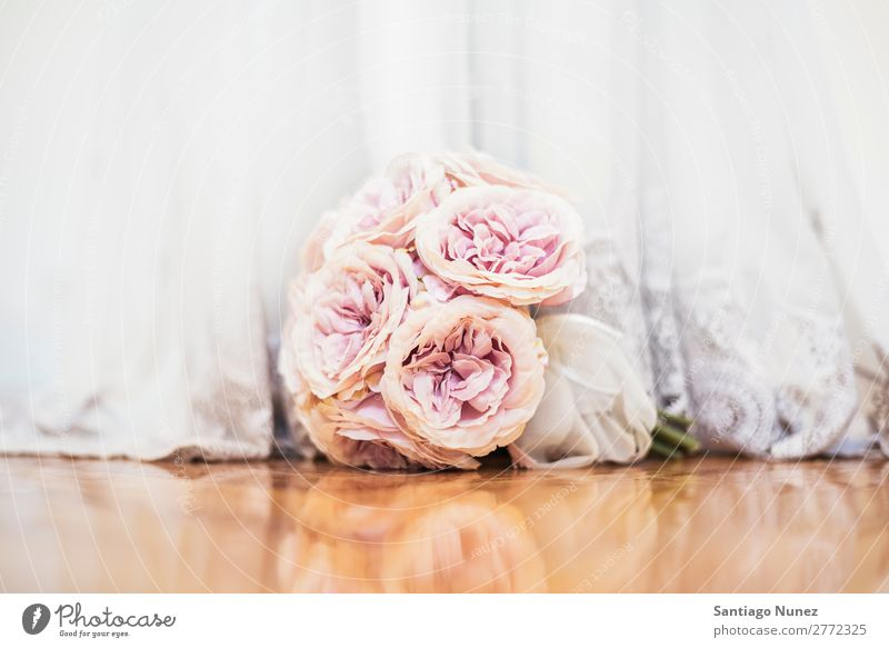 Beautiful wedding bouquet on the floor. Wedding Flower Bouquet Bride Floral bridal White Dress Rose valentine Beauty Photography Background picture