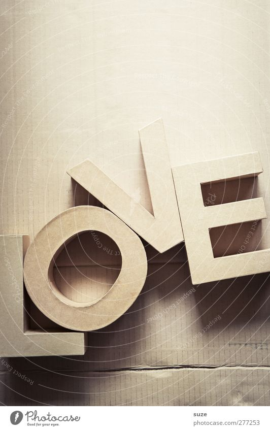 Love Style Leisure and hobbies Design Characters Decoration Lifestyle Paper Letters (alphabet) Simple Creativity Idea Sign Typography Cardboard Material