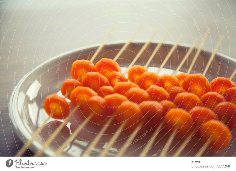 spaghetti Food Vegetable Dough Baked goods Nutrition Lunch Vegetarian diet Exceptional Orange Spaghetti Carrot Colour photo Interior shot Close-up Detail